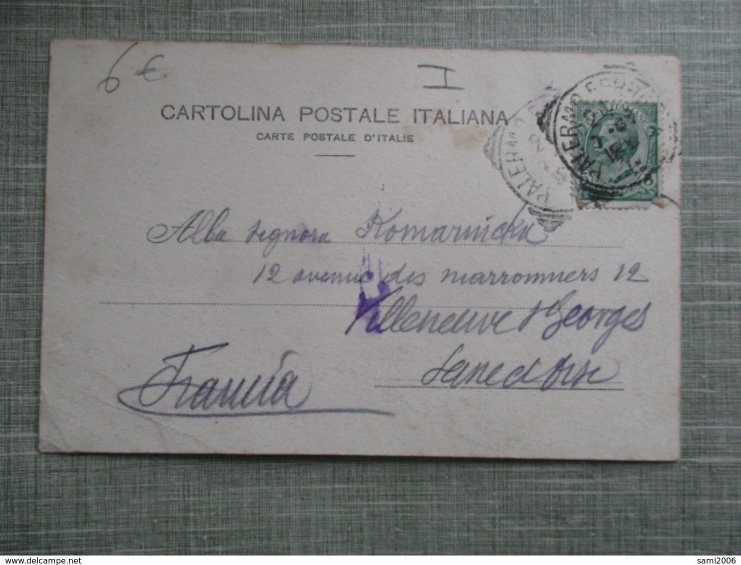 CPA ITALIE SICILE PALERMO PALERME CARRO SICILIANO ATTELAGE DECORE - Palermo