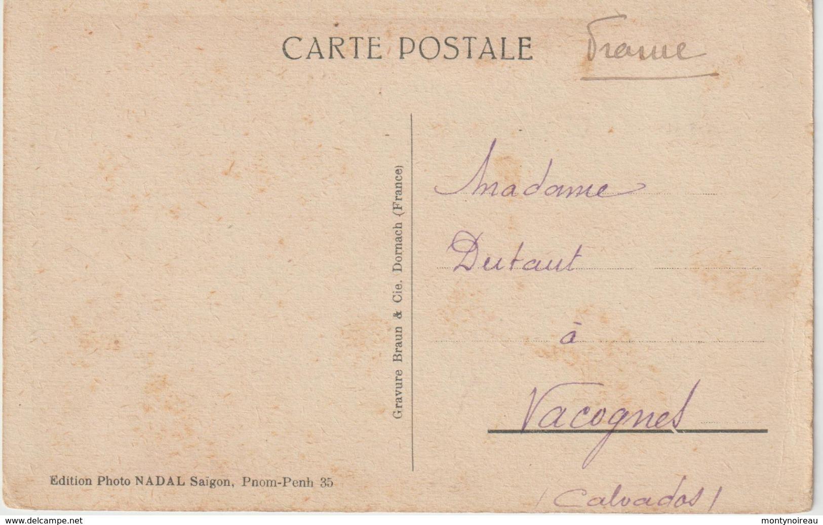 Asie : PNOM - PENH :  Palais  Royal , Monument  Funéraire   Dans La  Pagode  D ' Argent - Cartes Postales