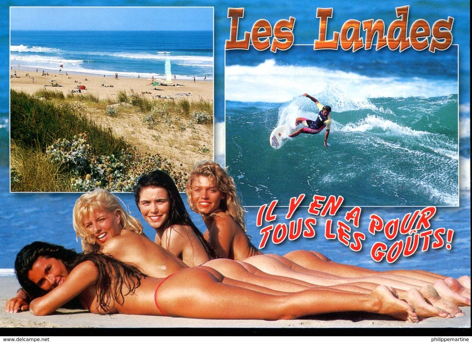 Les Landes, Il Y En A Pour Tous Les Gouts ! (femmes Dénudées) - Fine Nudes (adults < 1960)