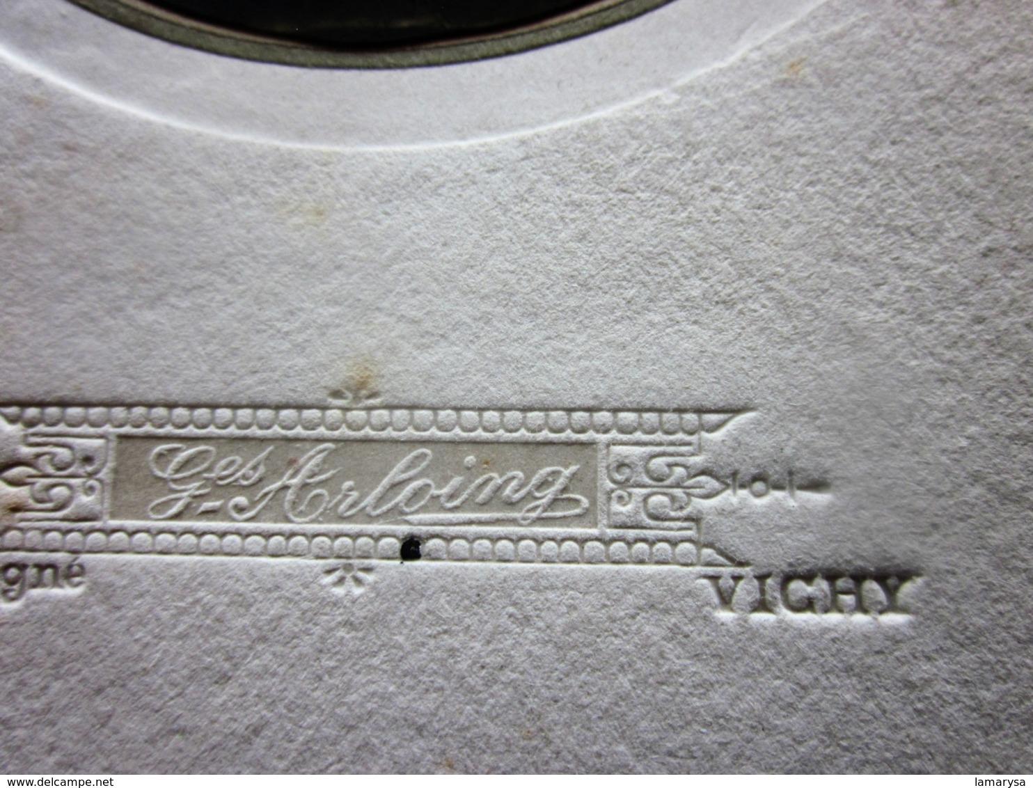 VICHY LES BAINS ALLIER CONTRÔLEUR DE TRAMWAY  Photographie D'ART Gaston ARLOING Rue De Sévigné  Photos  Photo Originale - Photographs