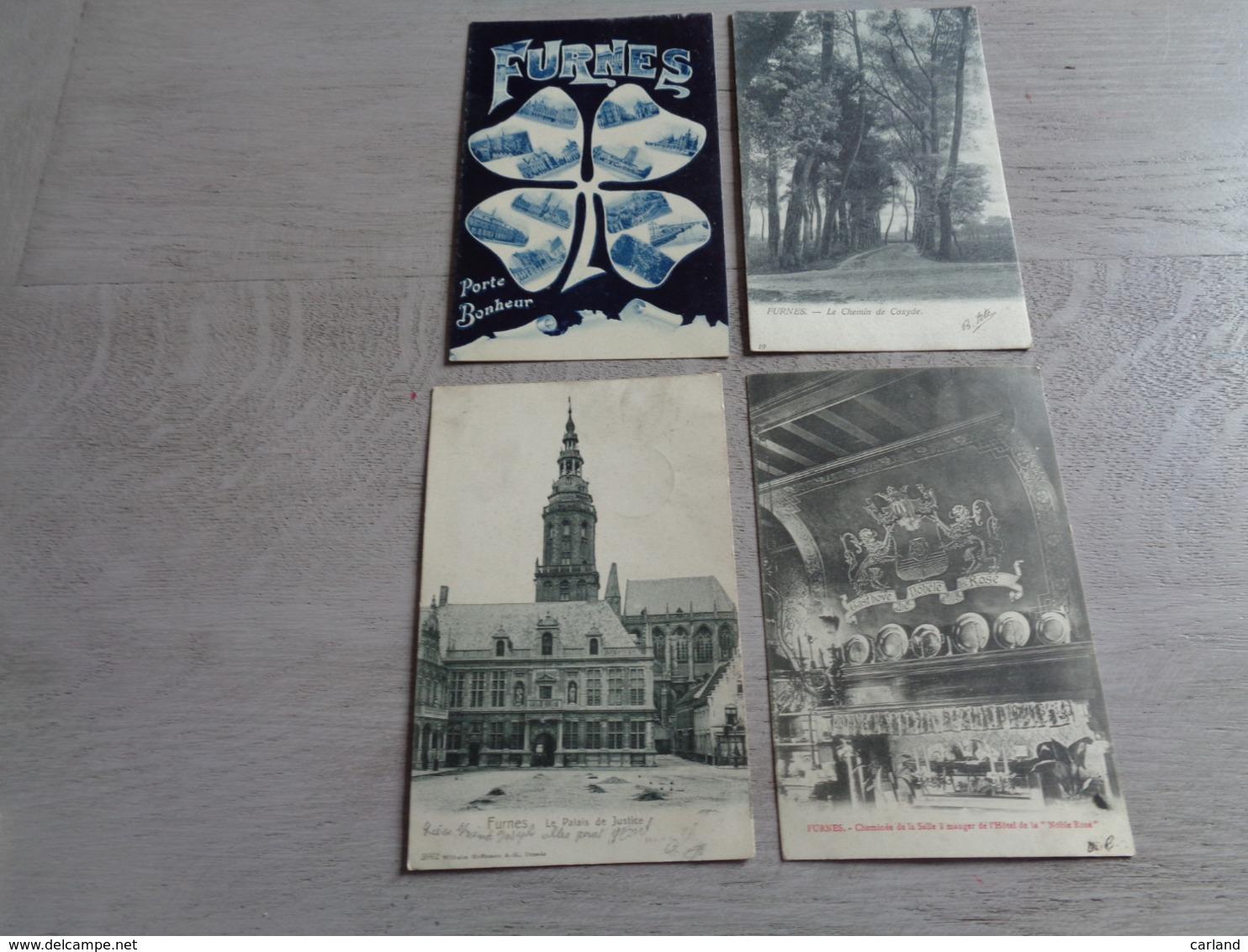 Beau Lot De 20 Cartes Postales De Belgique   Furnes    Mooi Lot Van 20 Postkaarten Van België  Veurne - 20 Scans - Cartes Postales