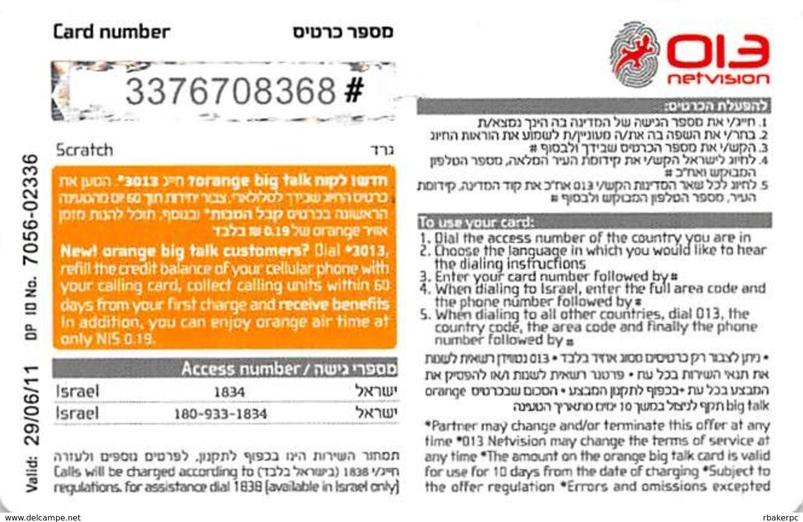 Home Card XL Mini 2400 Units Valid 29/06/11 - Phonecards