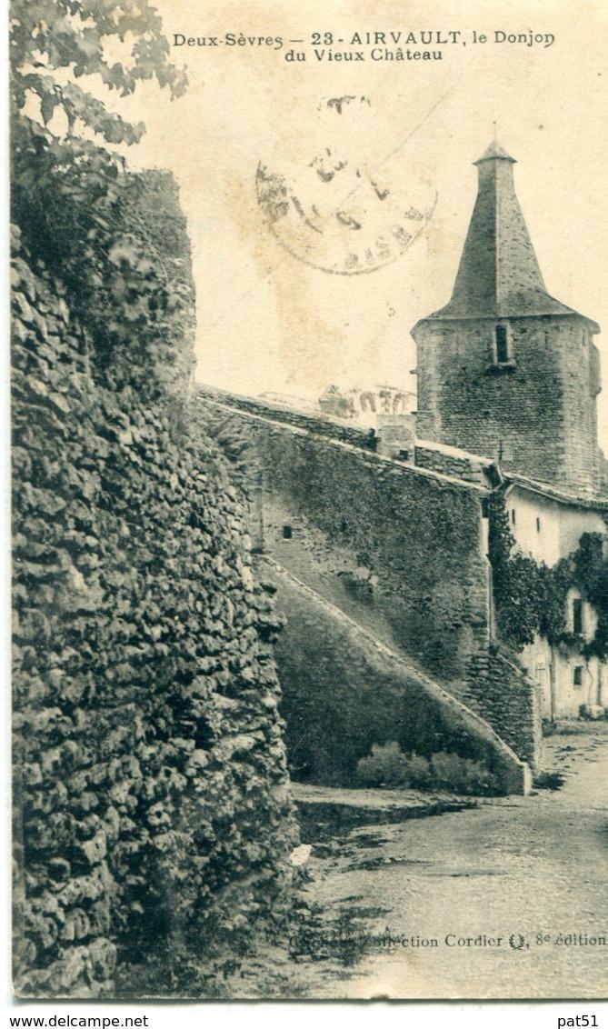 79 - Airvault : Le Donjon Du Vieux Château - Airvault
