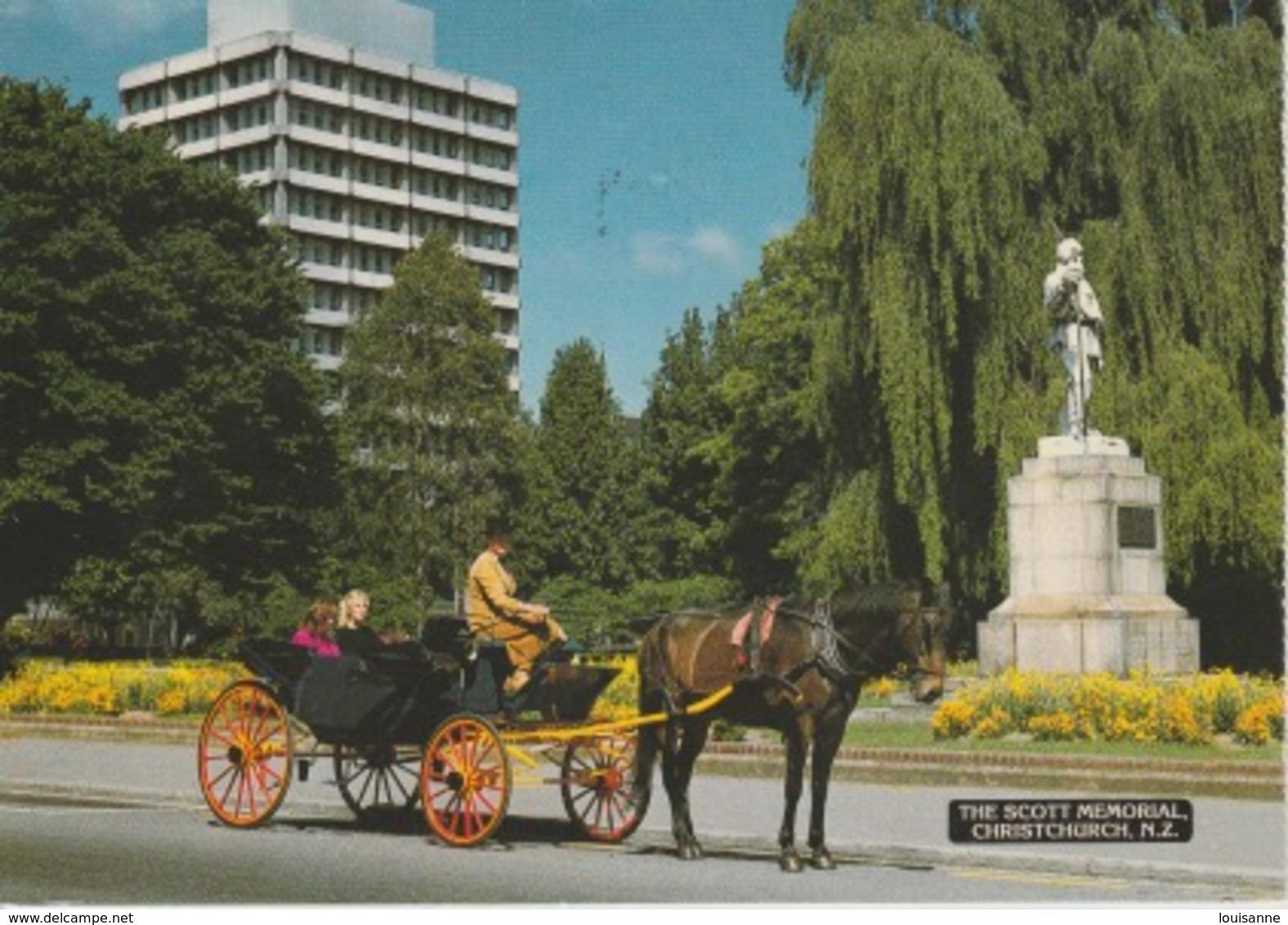 19 / 9 / 187. -  NEWW  ZEELAND  -  THE  MEMORIAL , CHRISTCHURCH. - C P M - Nouvelle-Zélande