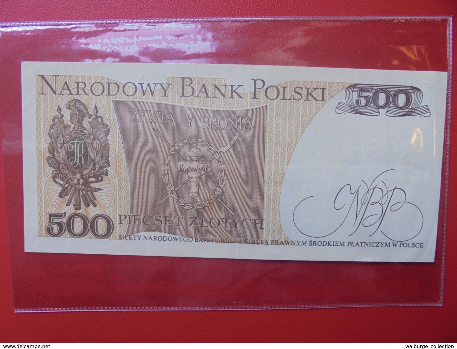 POLOGNE 500 ZLOTY 1982 CIRCULER (B.7) - Pologne