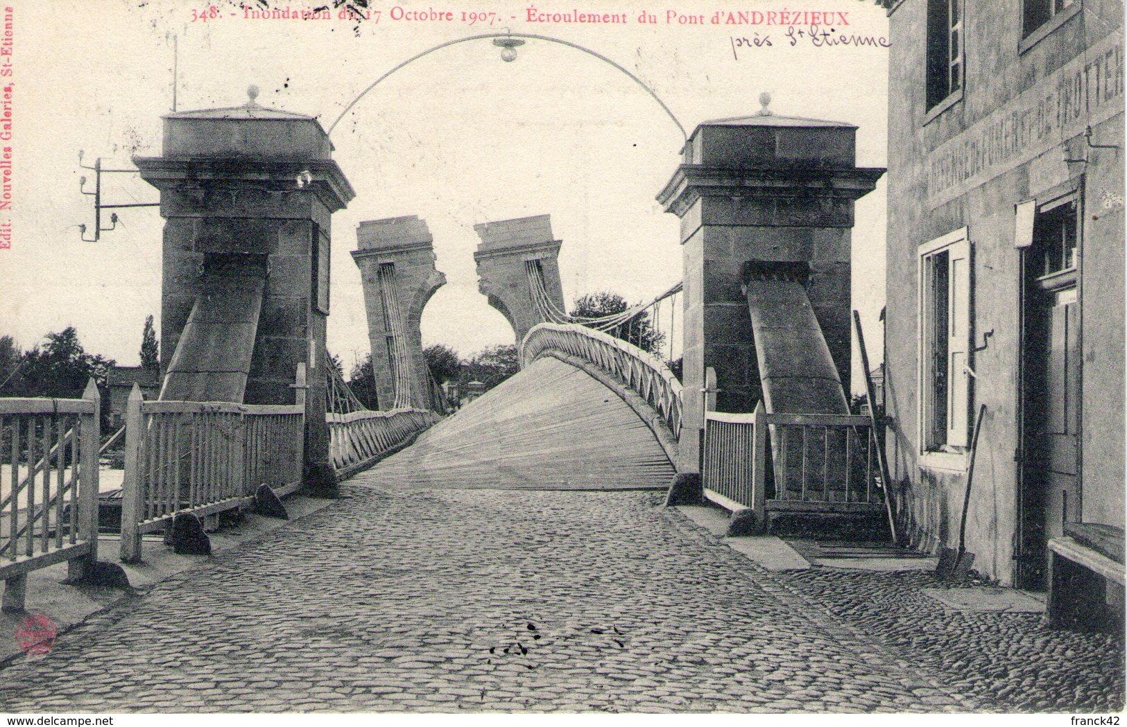 42. écroulement Du Pont D'andrézieux - Andrézieux-Bouthéon