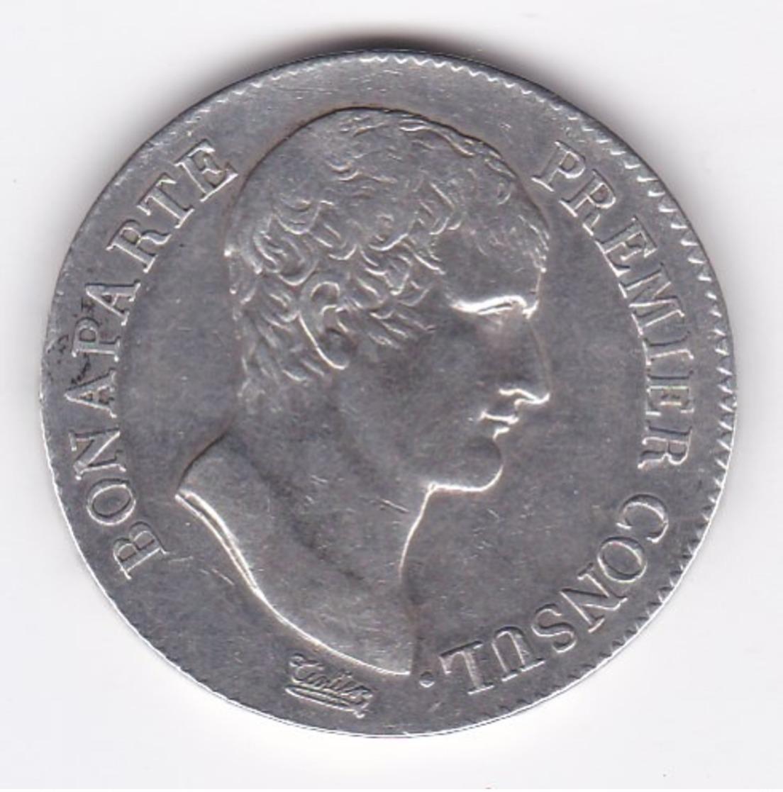 MONNAIE FRANCE 5 FRANCS AN XI A NAPOLEON - Francia