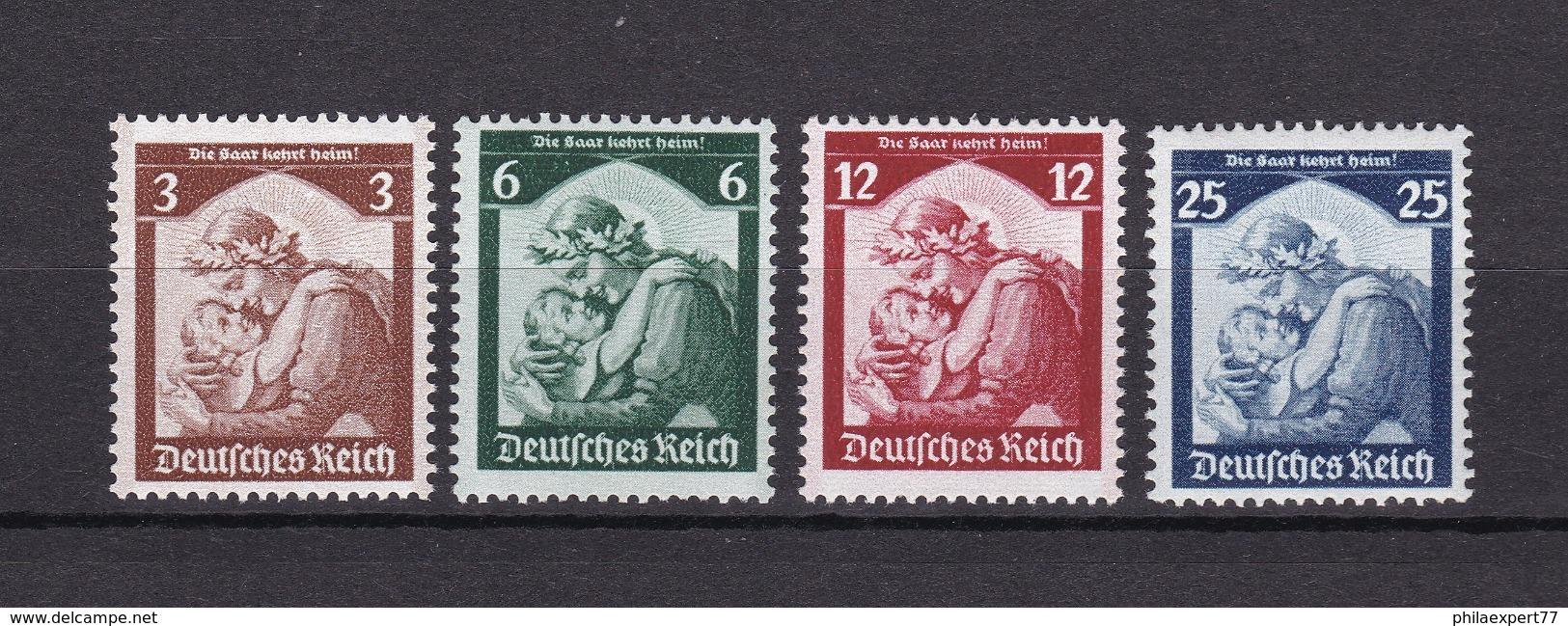 Deutsches Reich - 1935 - Michel Nr. 565/568 - Postfrisch - 120 Euro - Germany
