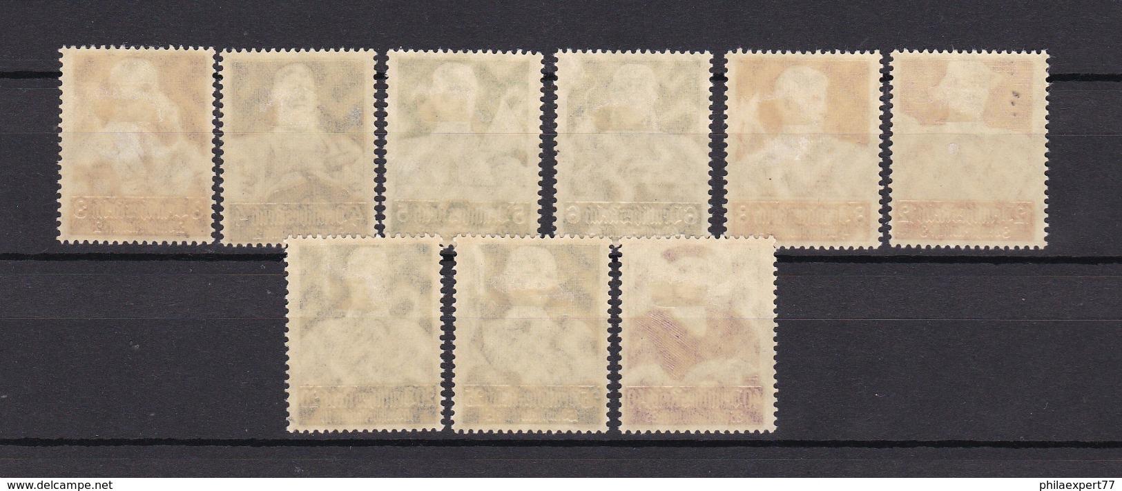 Deutsches Reich - 1934 - Michel Nr. 556/564 - Ungebr.- 100 Euro - Deutschland