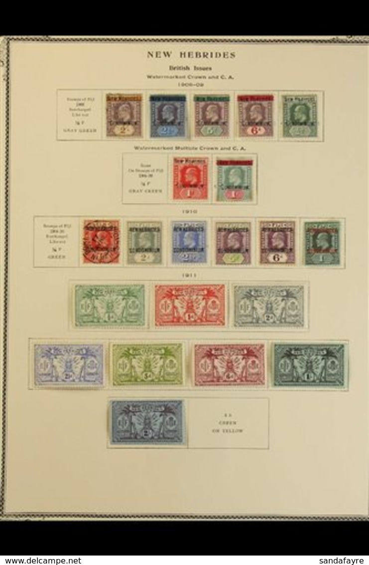 BRIT. COMMONWEALTH - GOOD QUALITY EARLY TO MODERN Includes Collections Of Fiji, Gibraltar, Gilbert & Ellice Is, Ionian I - Stamps