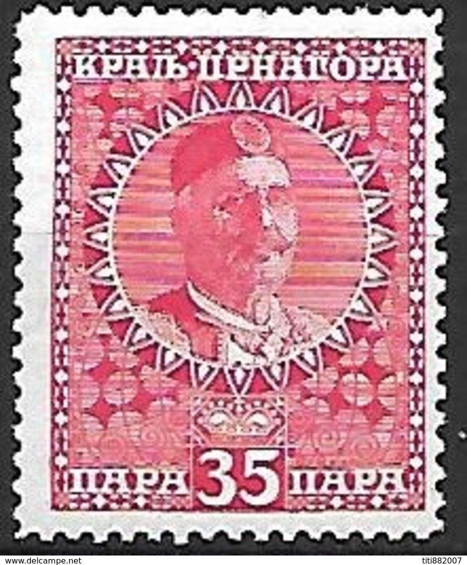 MONTENEGRO    -    1913.   Y&T N° 107 * - Montenegro