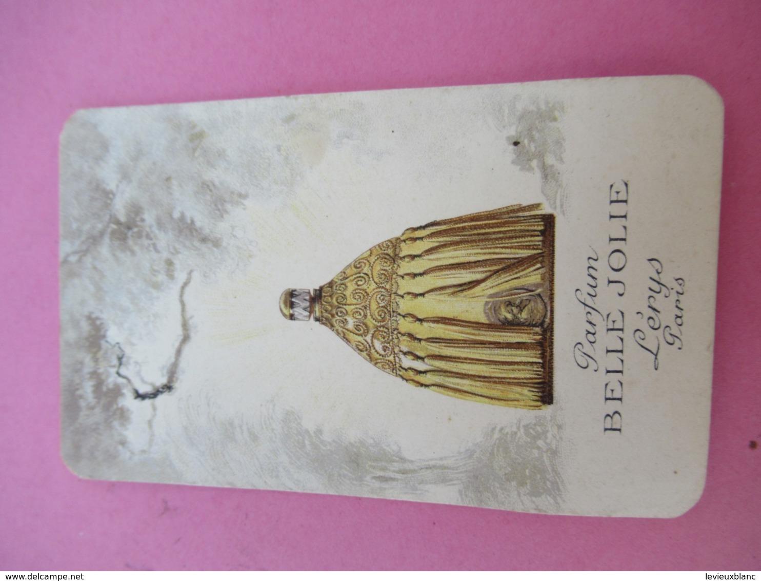 Carte Publicitaire Parfumée/Parfum Belle Jolie/ Lérys Paris/Parfumerie OSIRIS/Hélary/Rue De Siam/ BREST/1922   PARF202 - Cartes Parfumées