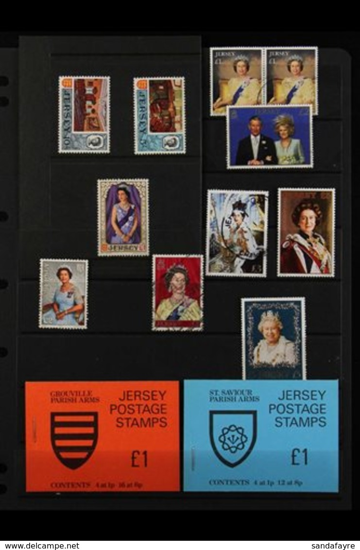 JERSEY 1958-2006 SHOEBOX SORTER. An Estate Clearance That Includes Mint, Nhm & Used Ranges, Europa Sheetlets Nhm, Bookle - Grande-Bretagne