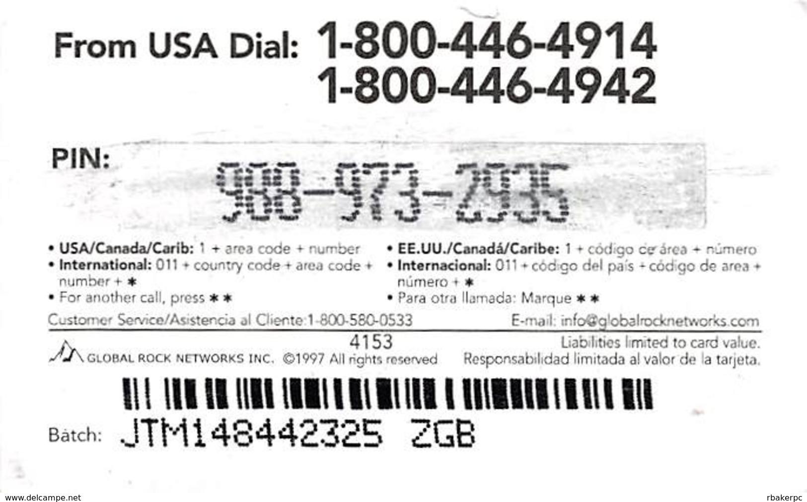 $5 ...a Todo MEXICO! Targeta Prepagada / Phone Card - Phonecards