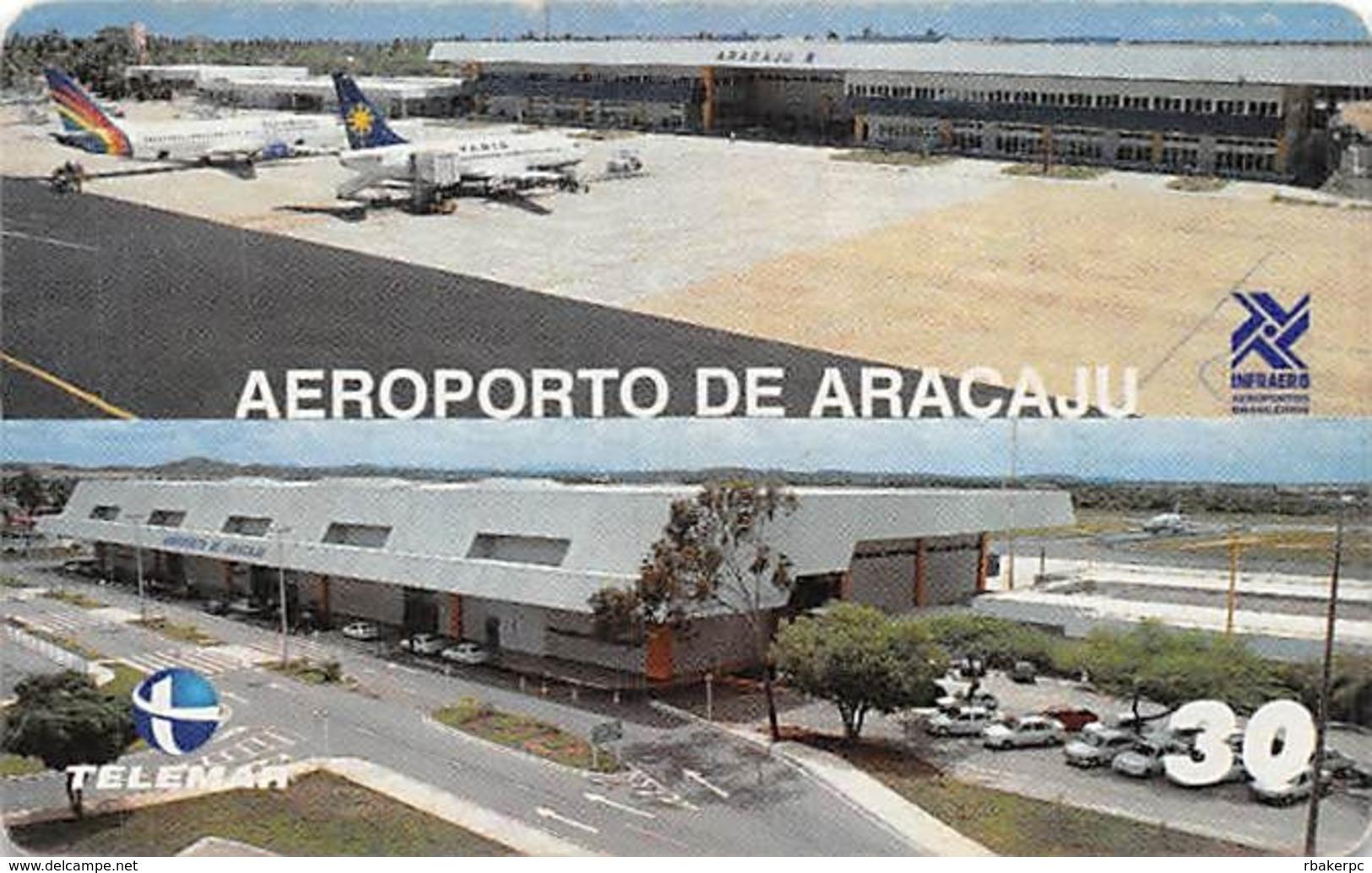Aeroporto De Aracaju Phone Card - Phonecards