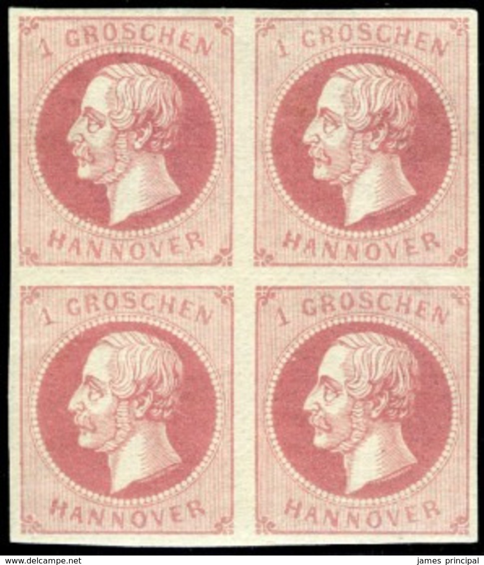 Hannover. Michel #14a. Mint Block Of Four. **/* - Hanover