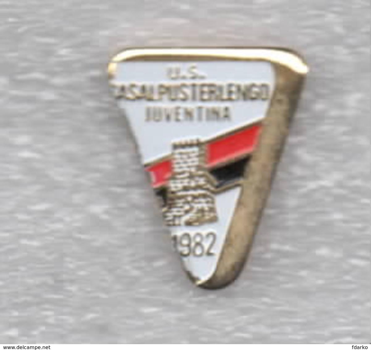 1/3 U.S. Casalpusterlengo Juventina Calcio Distintivi FootBall Soccer Spilla Pins  Italy Lombardia Lodi - Calcio