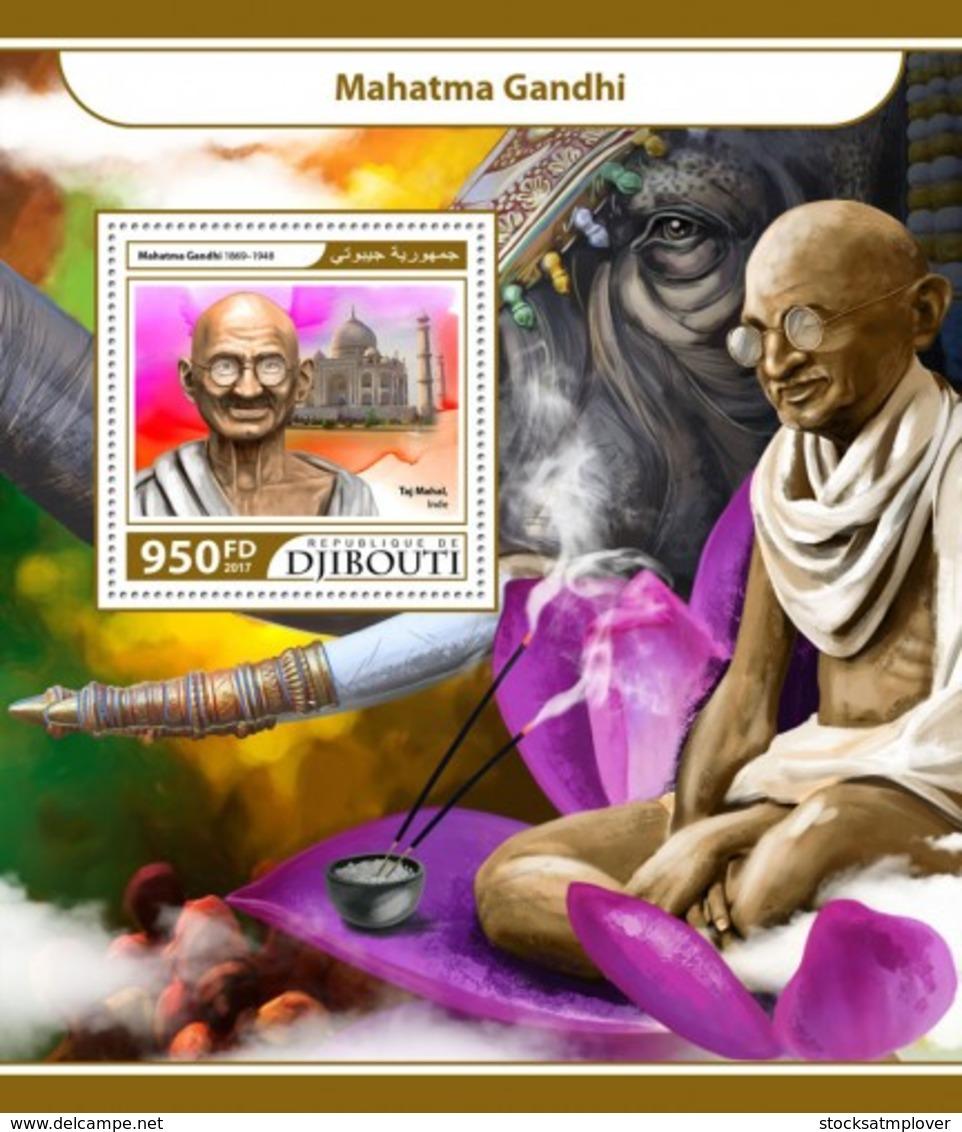 Djibouti 2017 Mahatma Gandhi S201711 - Djibouti (1977-...)