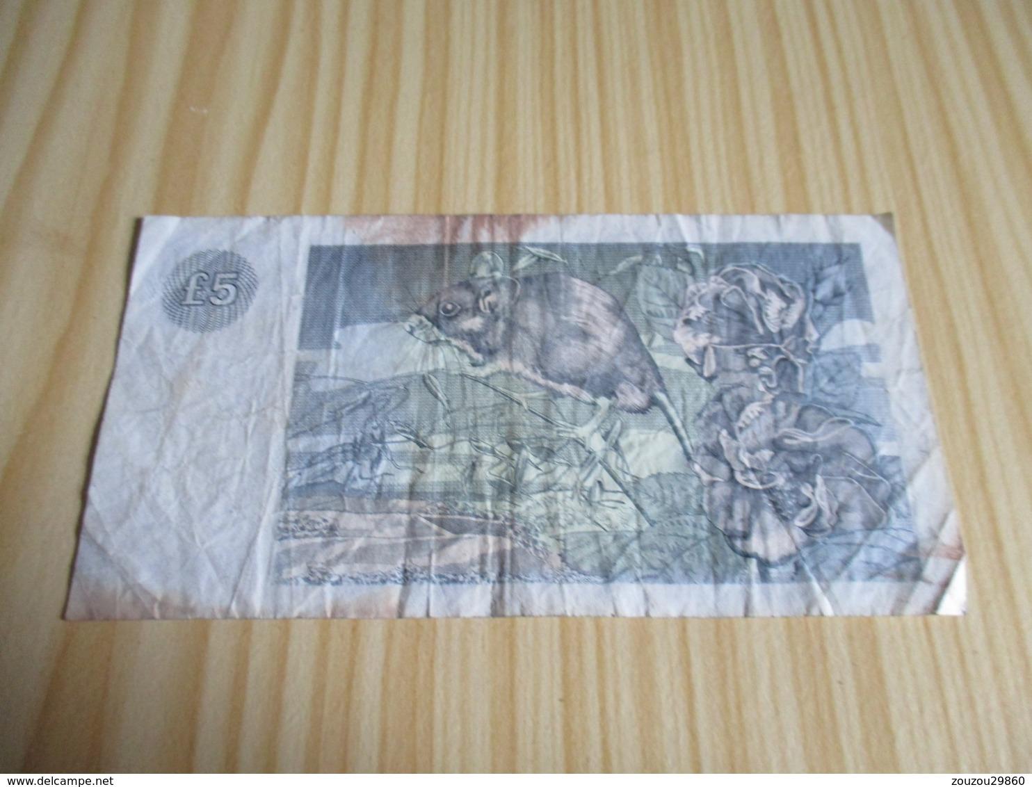 Ecosse.Billet 5 Livres Sterling 02/08/1988. - [ 3] Scotland