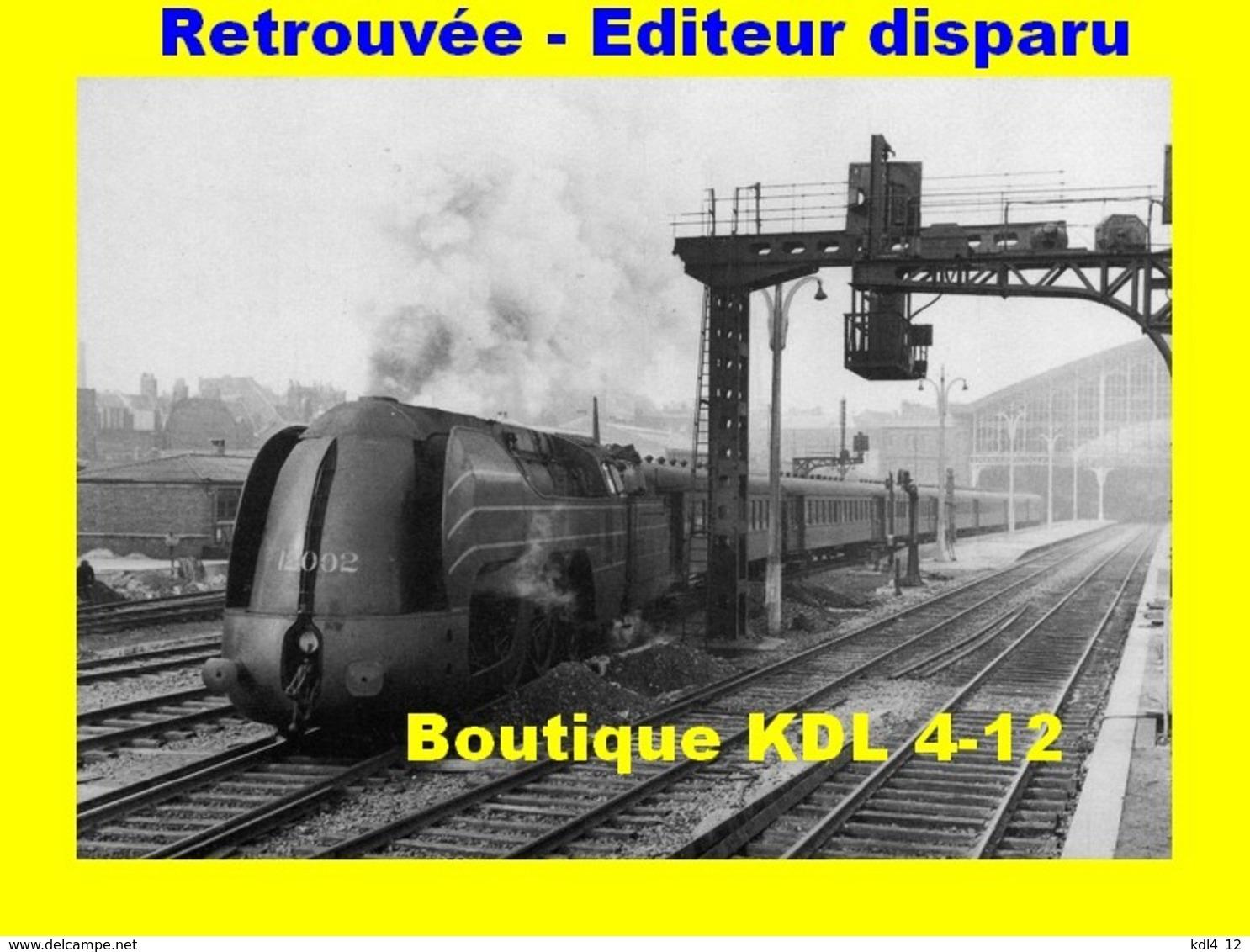 Rail Magazine 016 - Train - Loco Type 12 De La SNCB à LILLE - Nord - SNCF - Lille