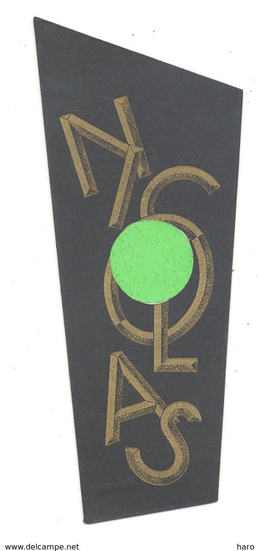 "Marque-pages Publicitaire - Alcool, Vin ""NICOLAS ""  (B260) - Bookmarks"