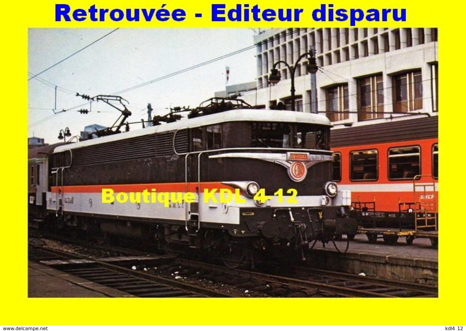 Rail Magazine 019 - Train - Loco BB 16047 En Gare De PARIS-NORD - SNCF - Stations, Underground