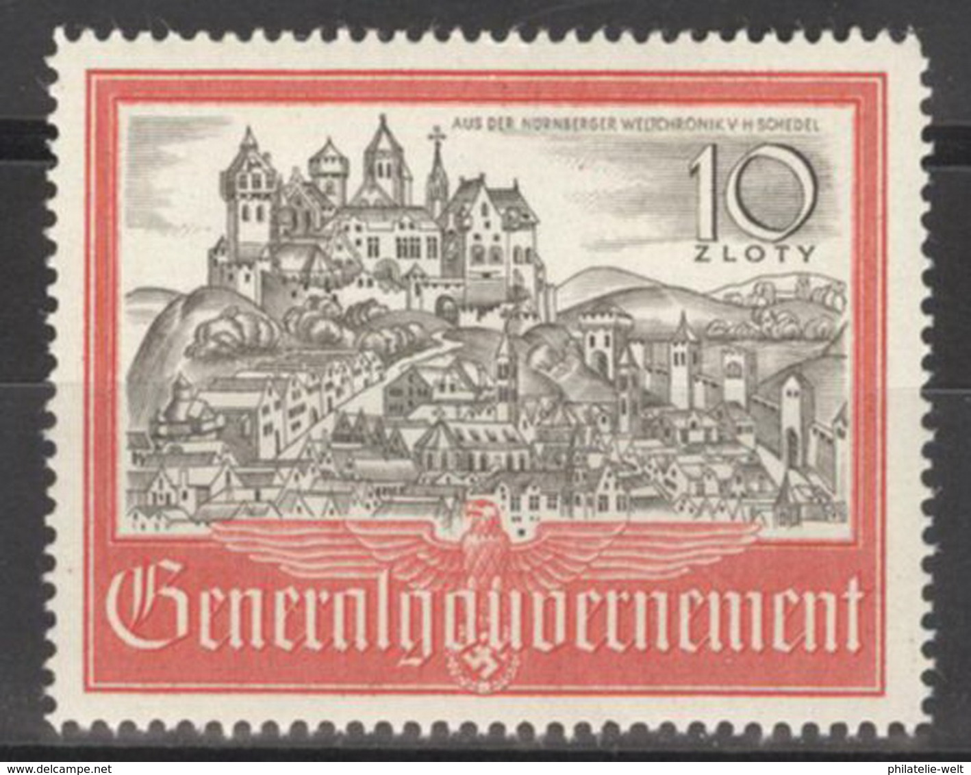 Generalgouvernement 65 ** Postfrisch - 1939-44: 2. WK