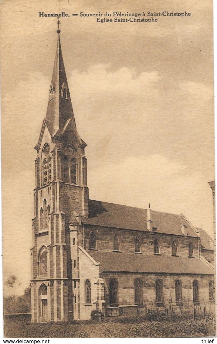 Hansinelle NA3: Souvenir Du Pèlerinage à Saint-Christophe. Eglise Saint-Christophe - Florennes