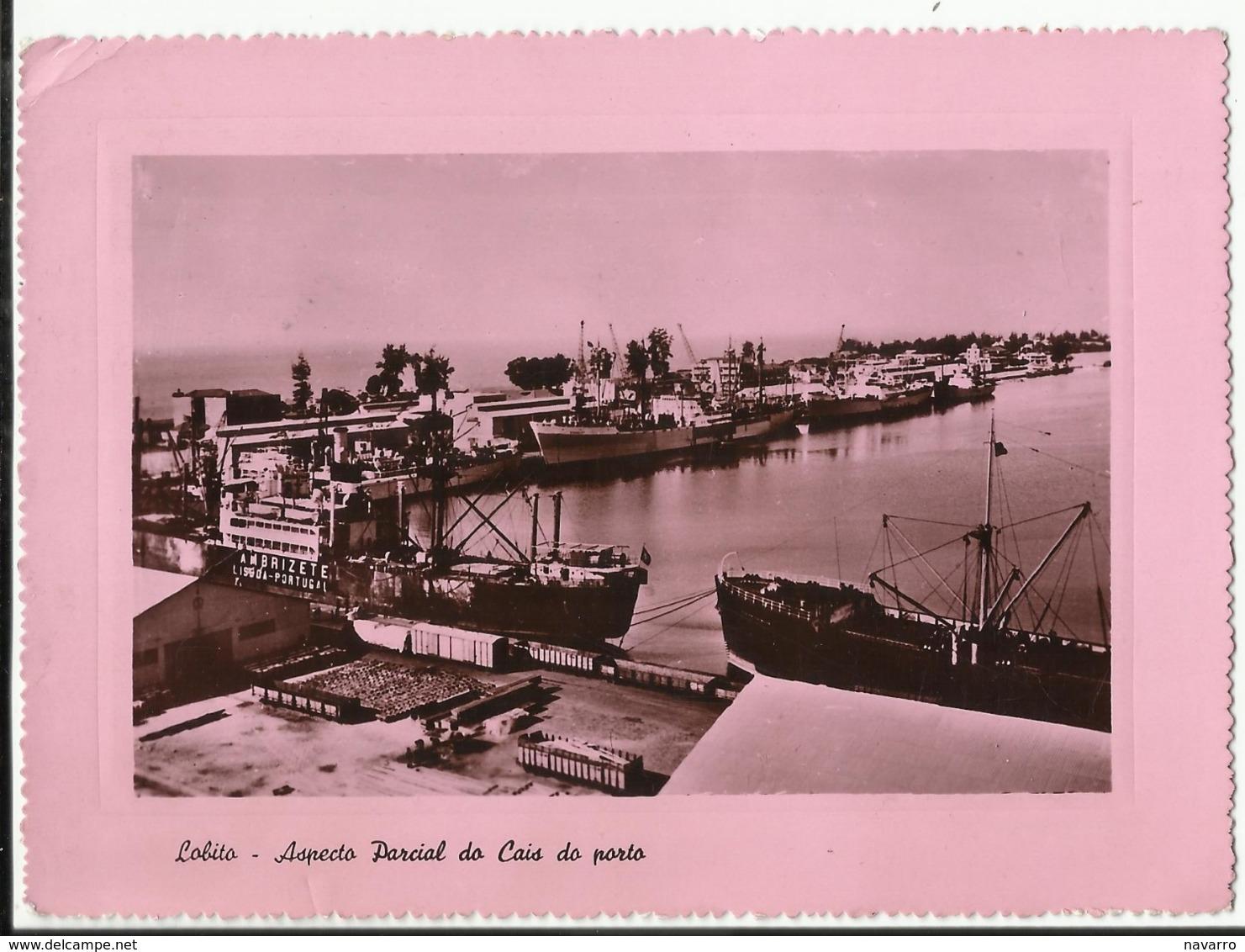 Afrique - Angola - Lobito - Aspecto Parcial Do Cais Do Porto 1956 - Angola