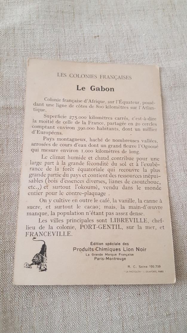 COLONIES FRANÇAISES  LE GABON - Ansichtskarten