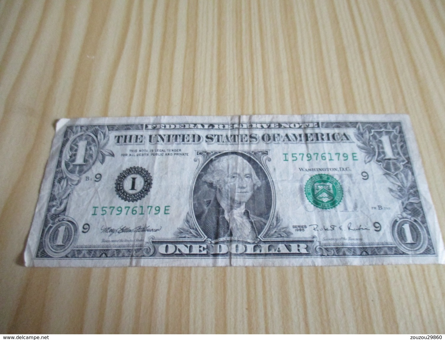 Etats-Unis.Billet 1 Dollar 1995. - Devise Nationale
