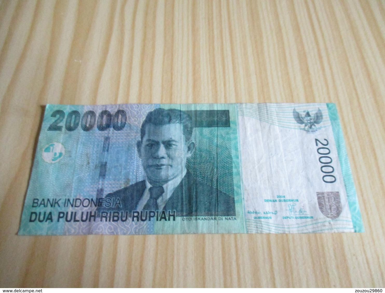 Indonésie.Billet 20000 Rupiah 2004. - Indonésie