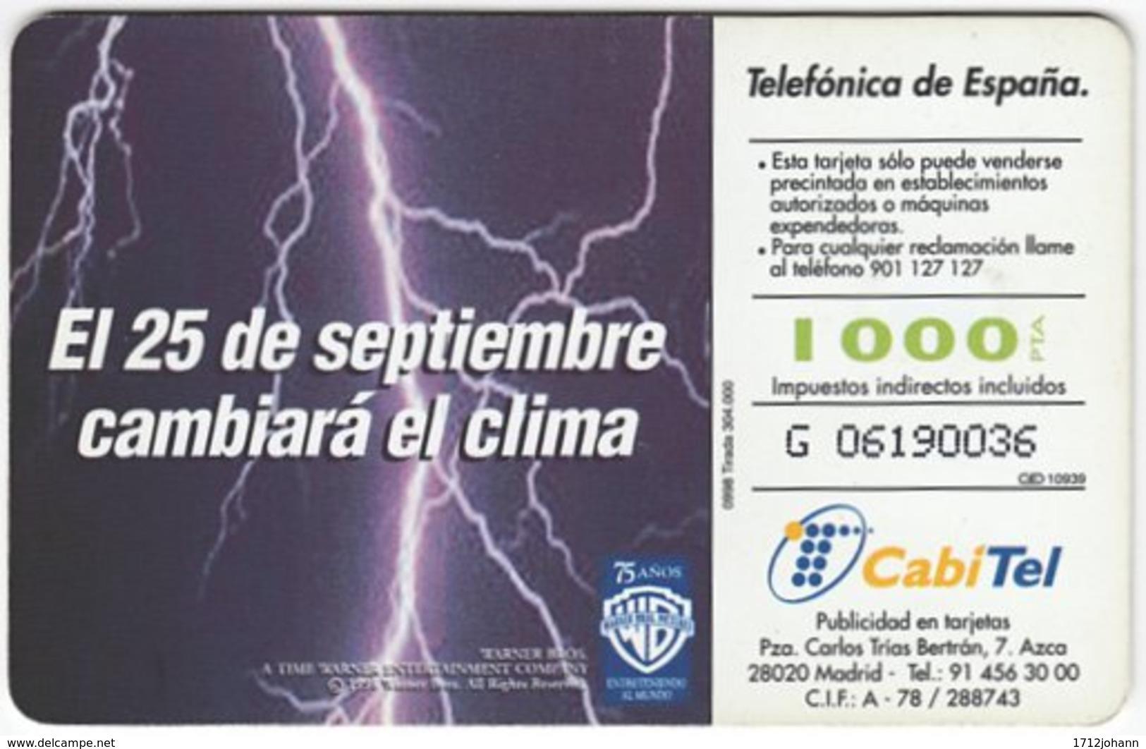 SPAIN B-360 Chip Telefonica - Used - Spagna