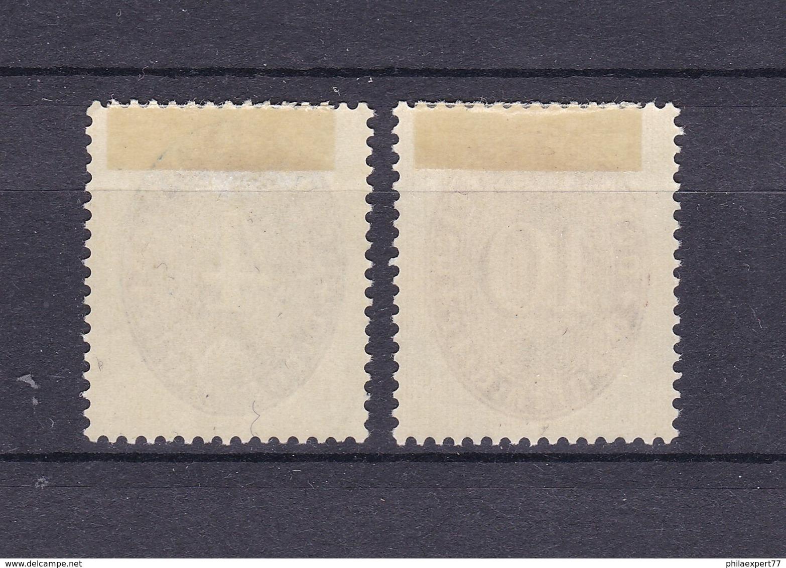 Deutsches Reich - 1933 - Dienstmarken - Michel Nr. 130/131 X - Ungebr. - 70 Euro - Germany