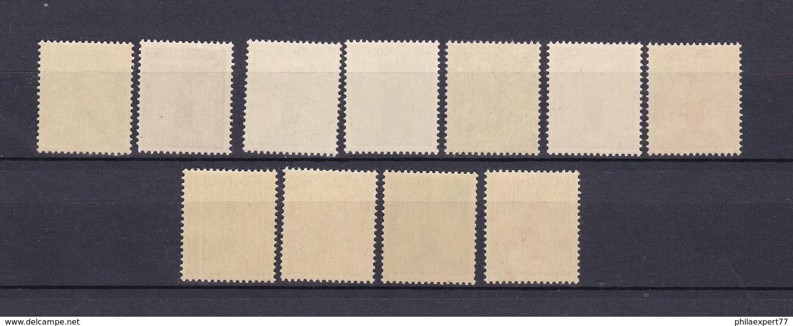 Deutsches Reich - 1942/44 - Dienstmarken - Michel Nr. 155/165 - Postfrisch - 50 Euro - Germany