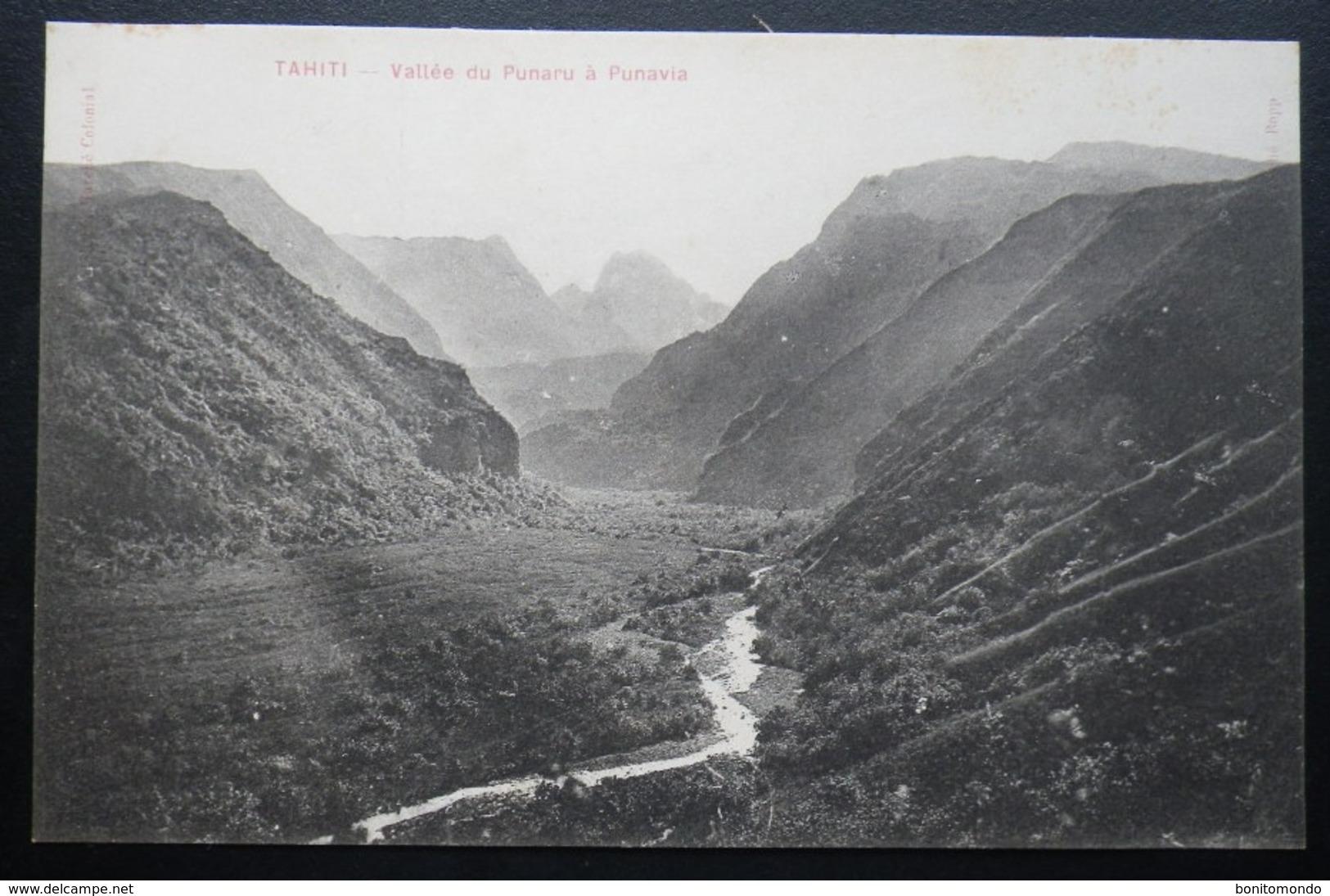 Tahiti Postcard. Vallee Du Punaru A Punavia - Tahiti