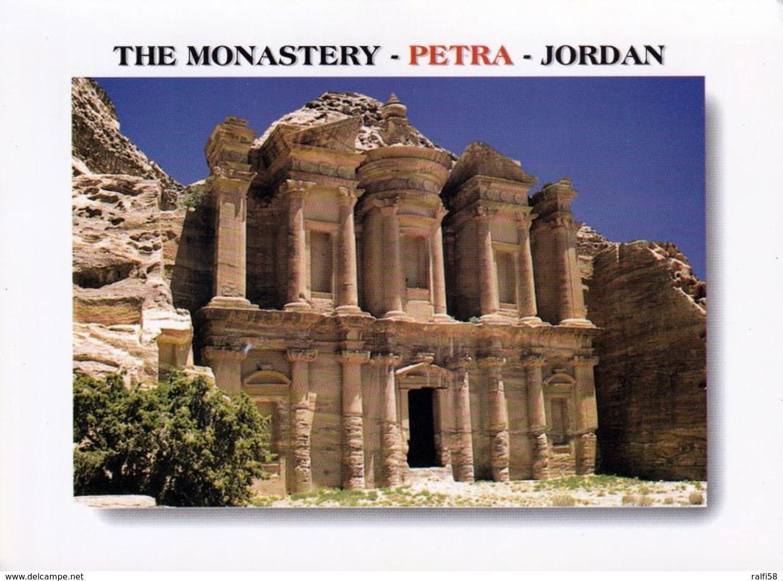 1 AK Jordanien * Tempel Ed-Deir (das Kloster) In Der Antiken Stadt Petra - Erbaut Im 1. Jh. N. Chr. - Seit 1985 UNESCO - Jordanie