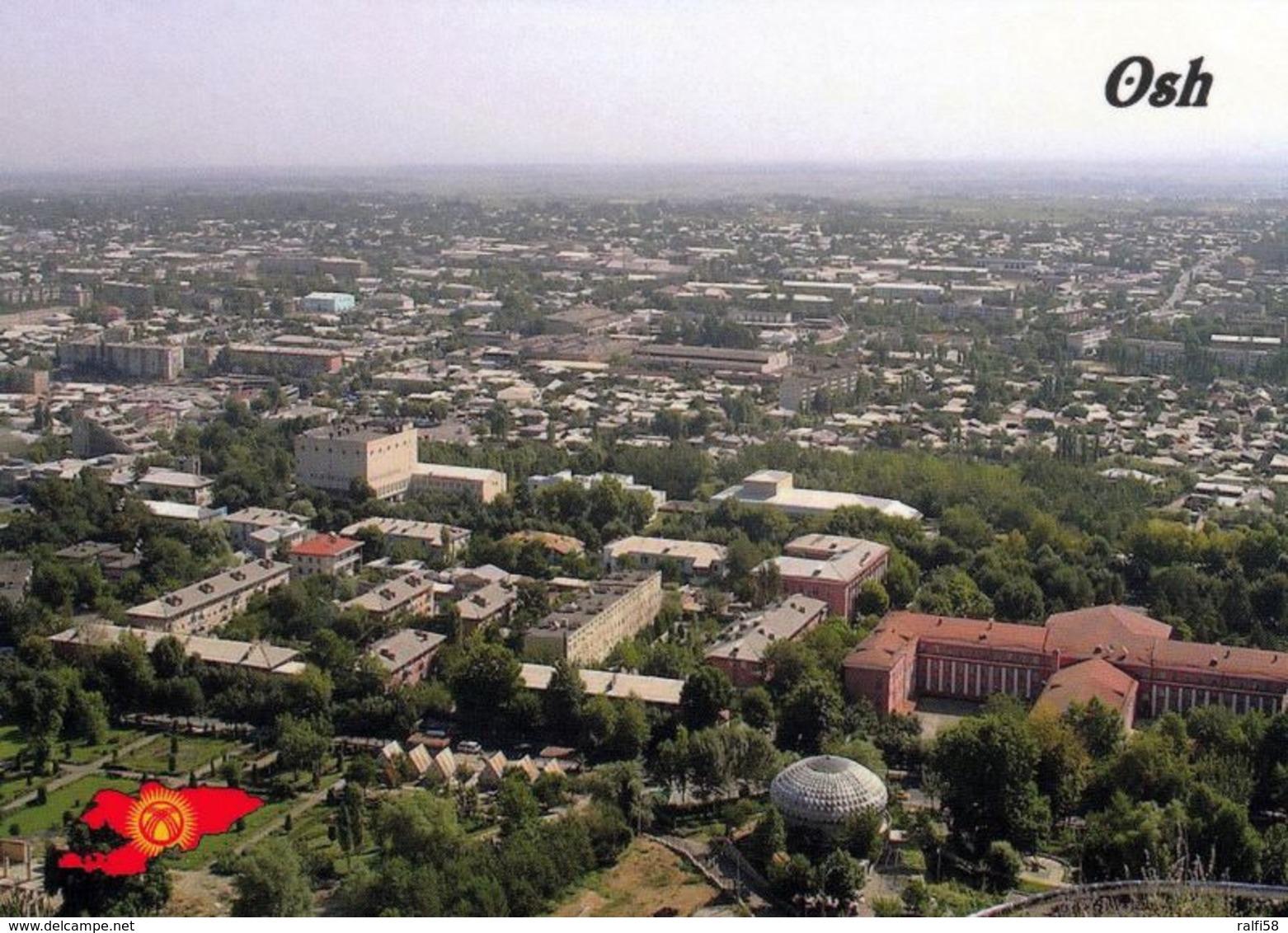 1 AK Kirgistan Kyrgyzstan * Blick Auf Die Stadt Osh (Osch) - Luftbildaufnahme * - Kirgisistan
