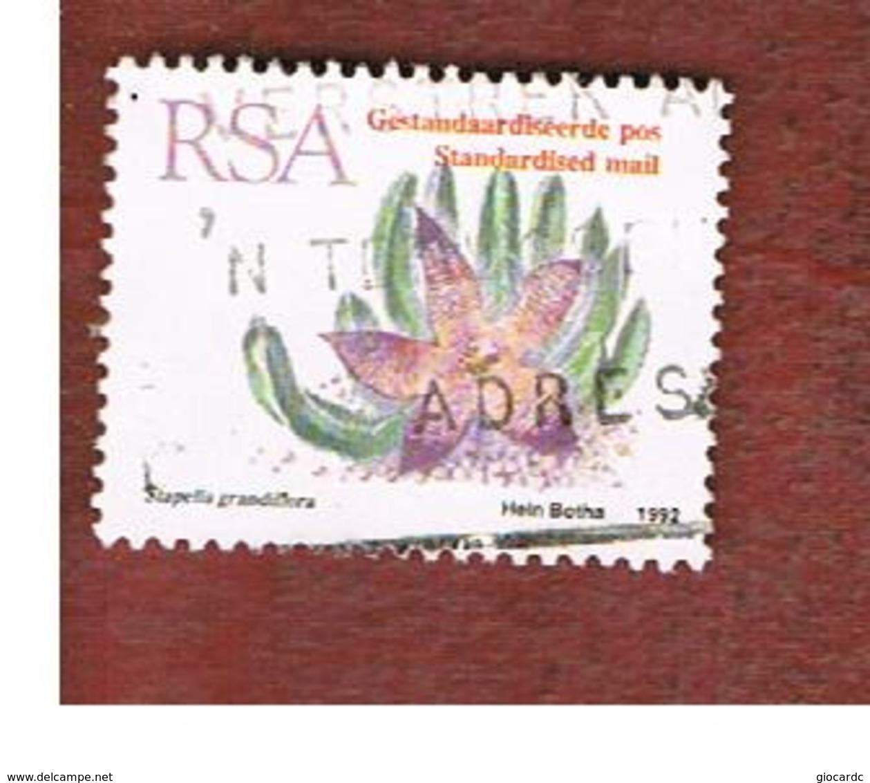 SUD AFRICA (SOUTH AFRICA) - SG 778 - 1993   SUCCULENTS: STAPELIA GRANDIFLORA   - USED - Sud Africa (1961-...)