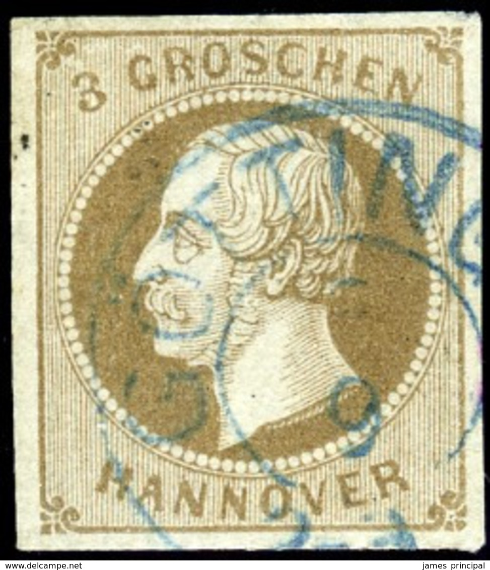 Hannover. Michel #19a. Used. VF. - Hanover