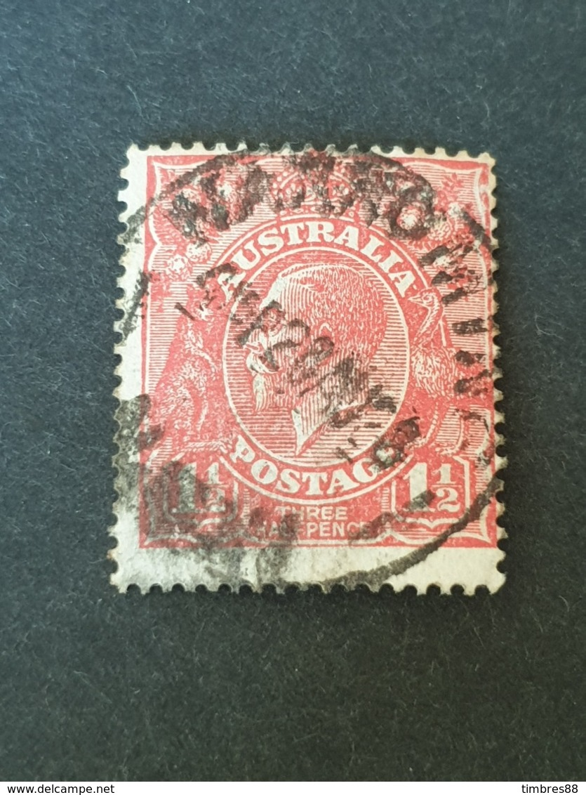 Sello Australia - 1913-36 George V : Heads