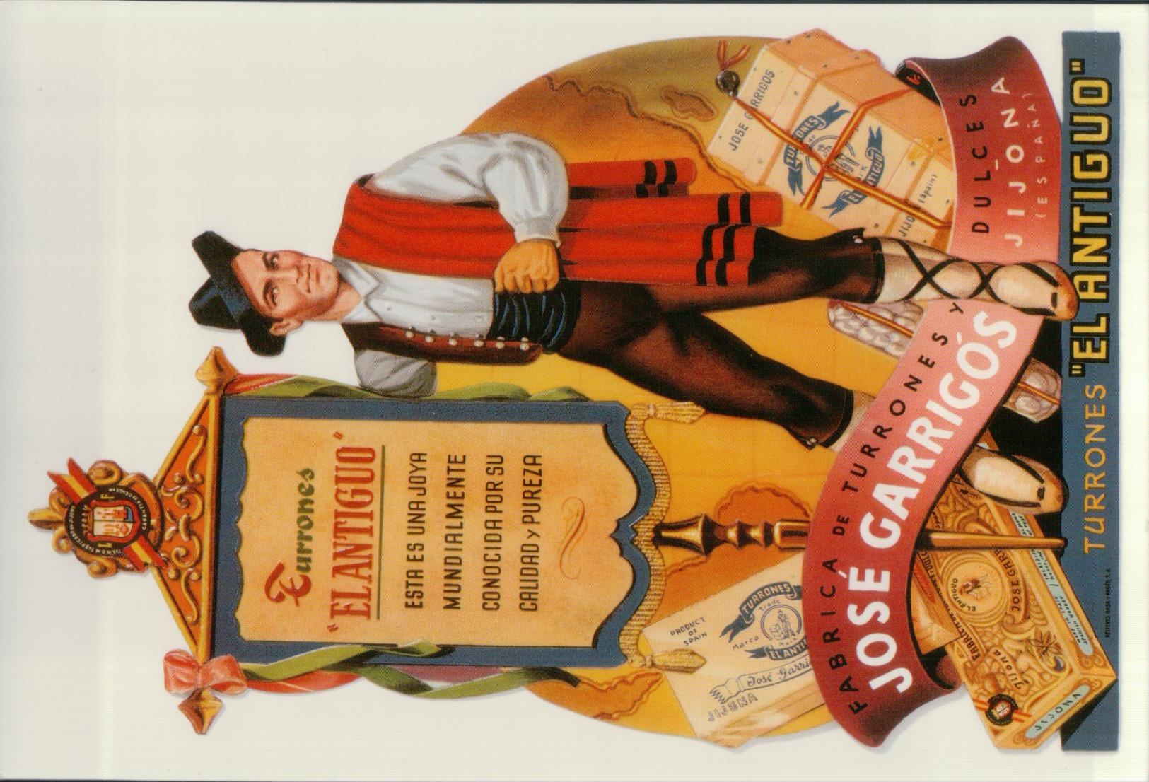 1530   PUB  ESPAGNE  NON   ECRIITE VERSO - Werbepostkarten