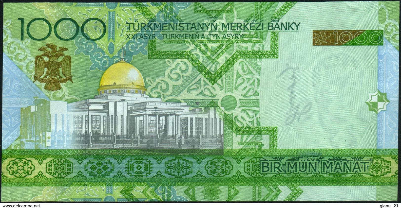 TURKMENISTAN - 1.000 Manat 2005 {Türkmenistanyň Merkezi Banky} UNC P.20 - Turkménistan