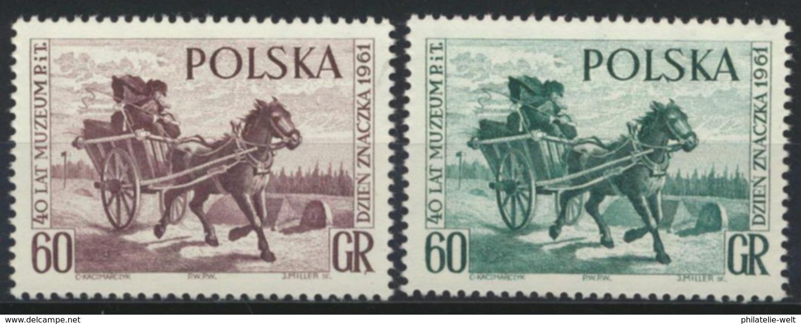 Polen 1266/67 ** Postfrisch Tag Der Briefmarke - 1944-.... Republik