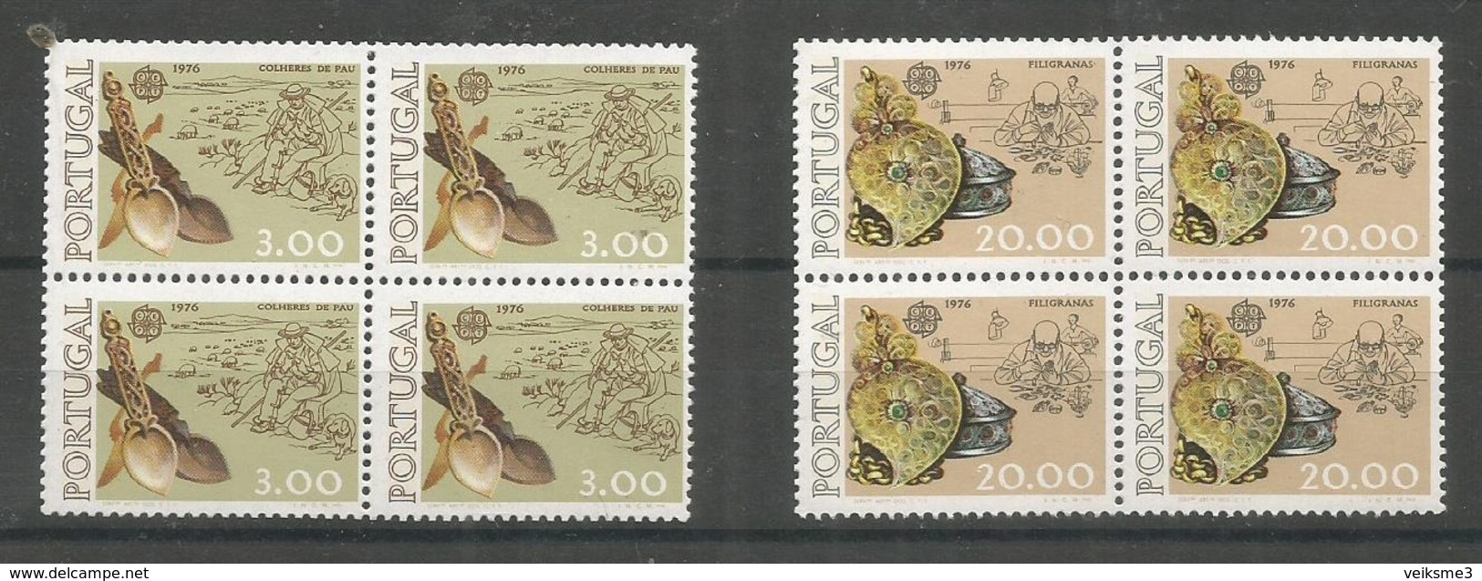 4x PORTUGAL - MNH - Europa-CEPT - Art - 1976 - Europa-CEPT
