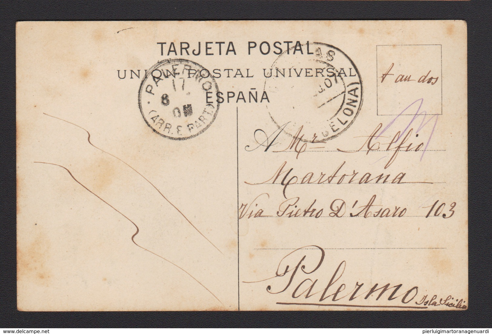 17903 Barcellona - Puerto Y Aduana F - Barcelona