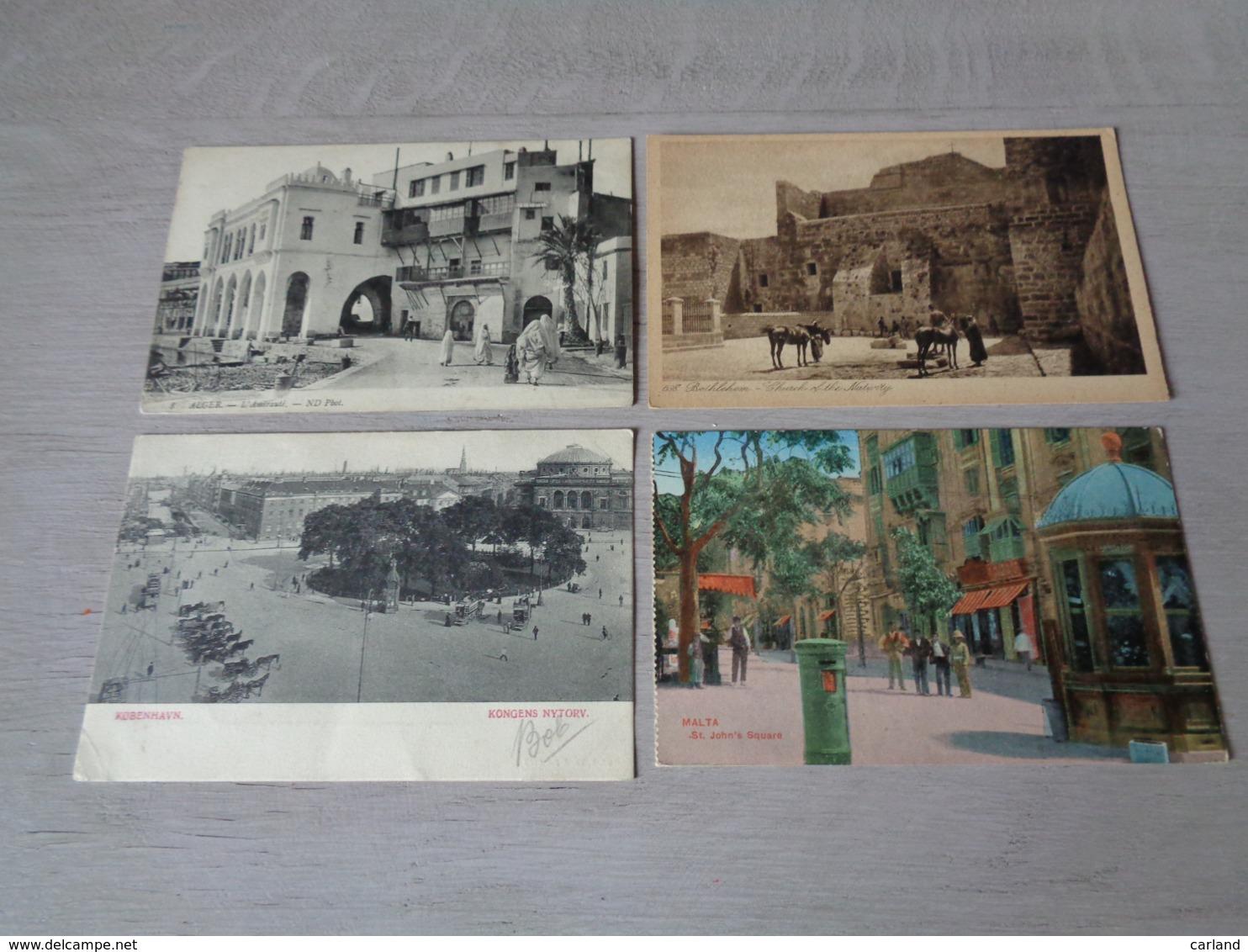 Beau Lot De 60 Cartes Postales Du Monde        Mooi Lot Van 60 Postkaarten Van De Wereld - 60 Scans - Cartes Postales