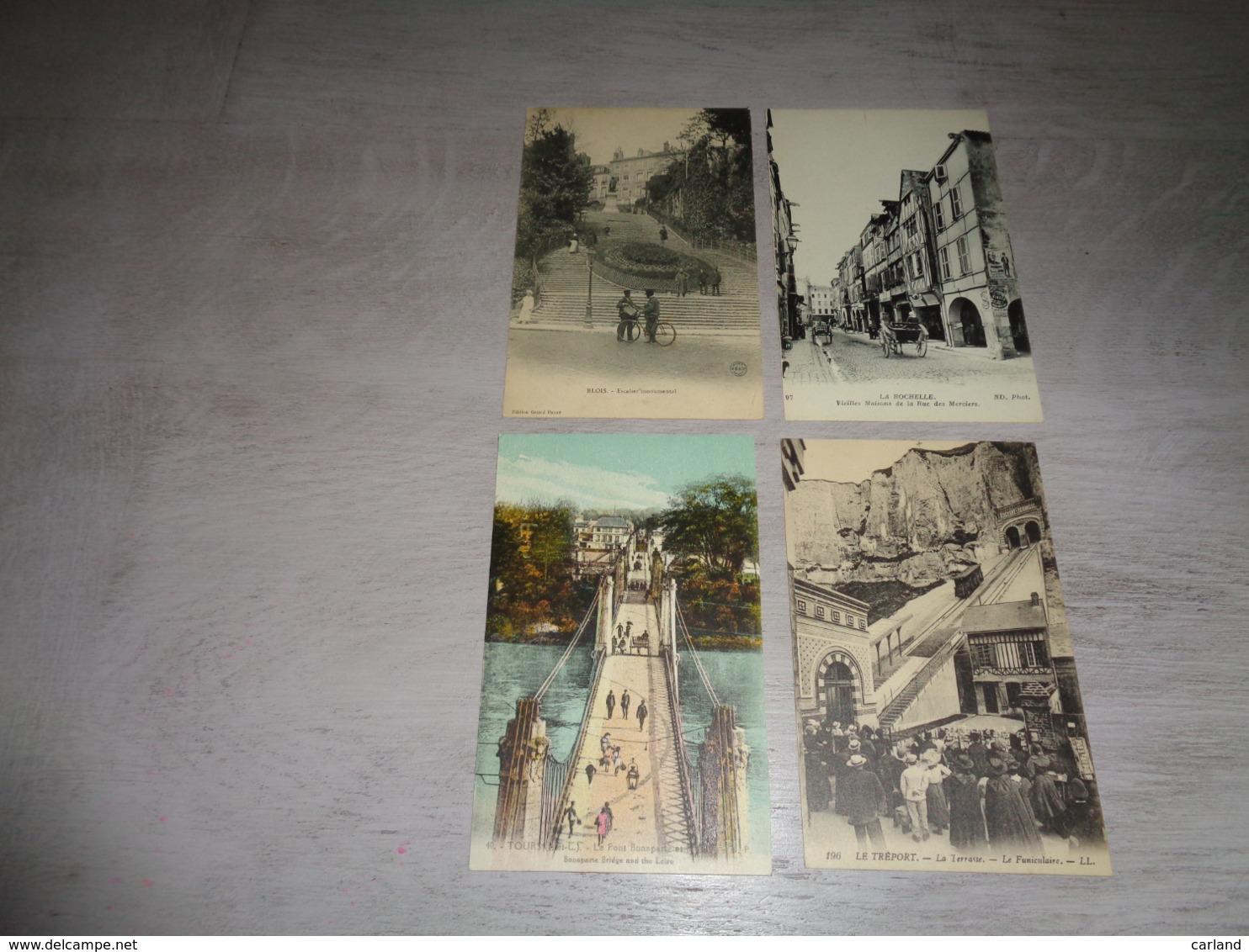 Beau Lot De 20 Cartes Postales De France      Mooi Lot Van 20 Postkaarten Van Frankrijk    - 20 Scans - 5 - 99 Cartes
