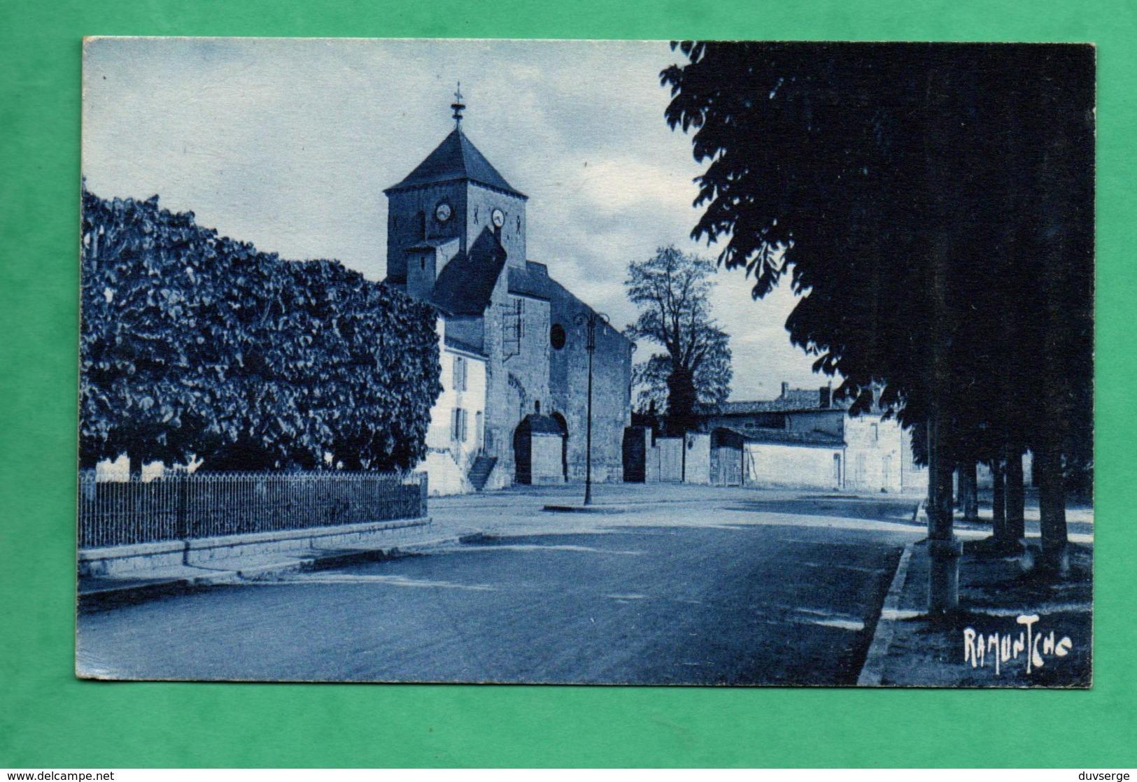 79 Deux Sevres Mauze Sur Le Mignon Place De L ' Eglise - Mauze Sur Le Mignon