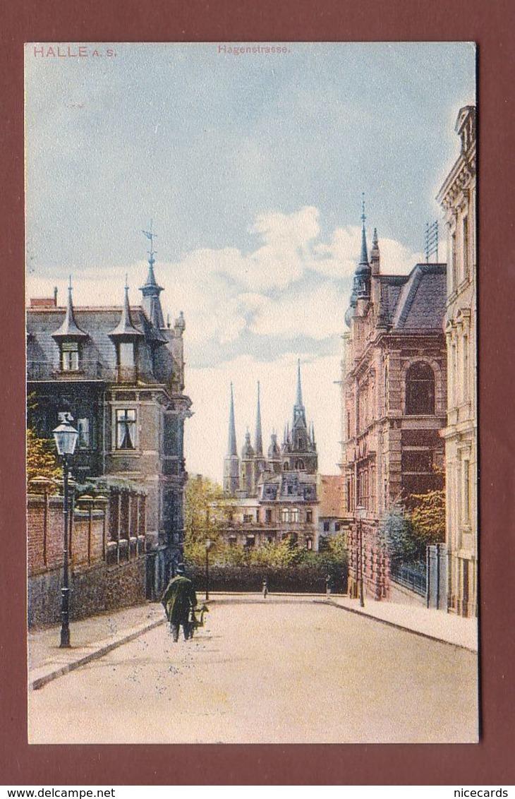 Deutschland - HALLE - Hagenstrasse - Halle (Saale)